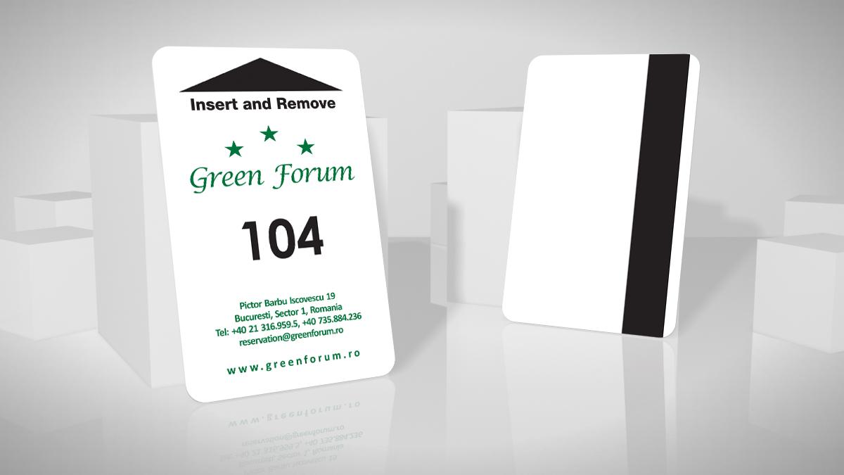 card acces hotel cu banda magnetica LoCo
